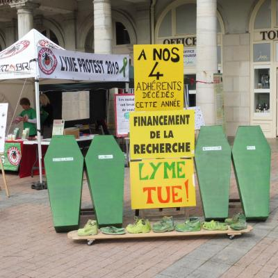Lyme Protest Lons 2019